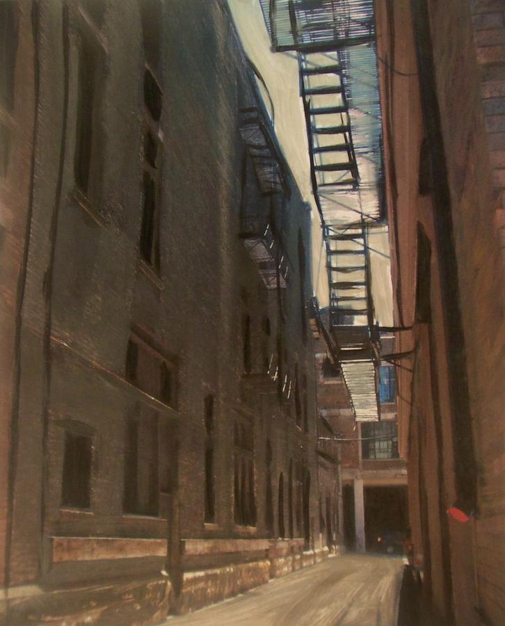 Alley Series 5 Painting