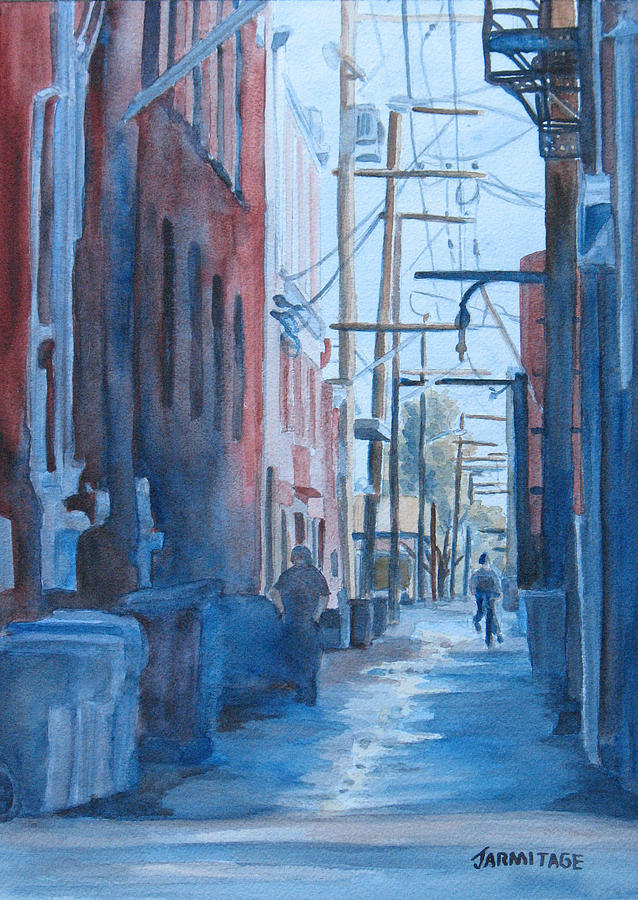 Alley Shortcut Painting