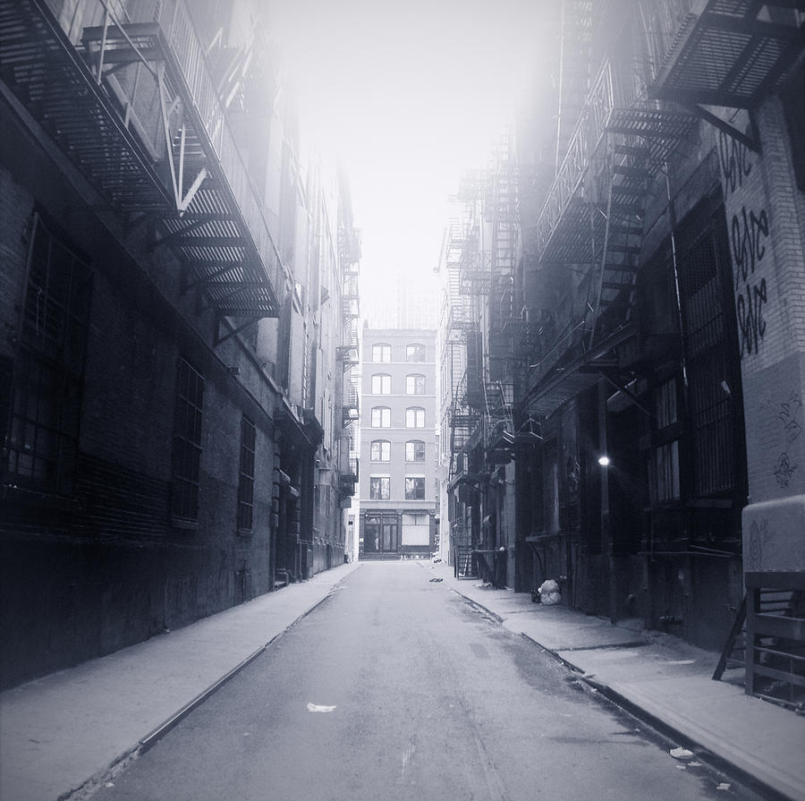 Horizontal Photograph - Alleyway by William Andrew