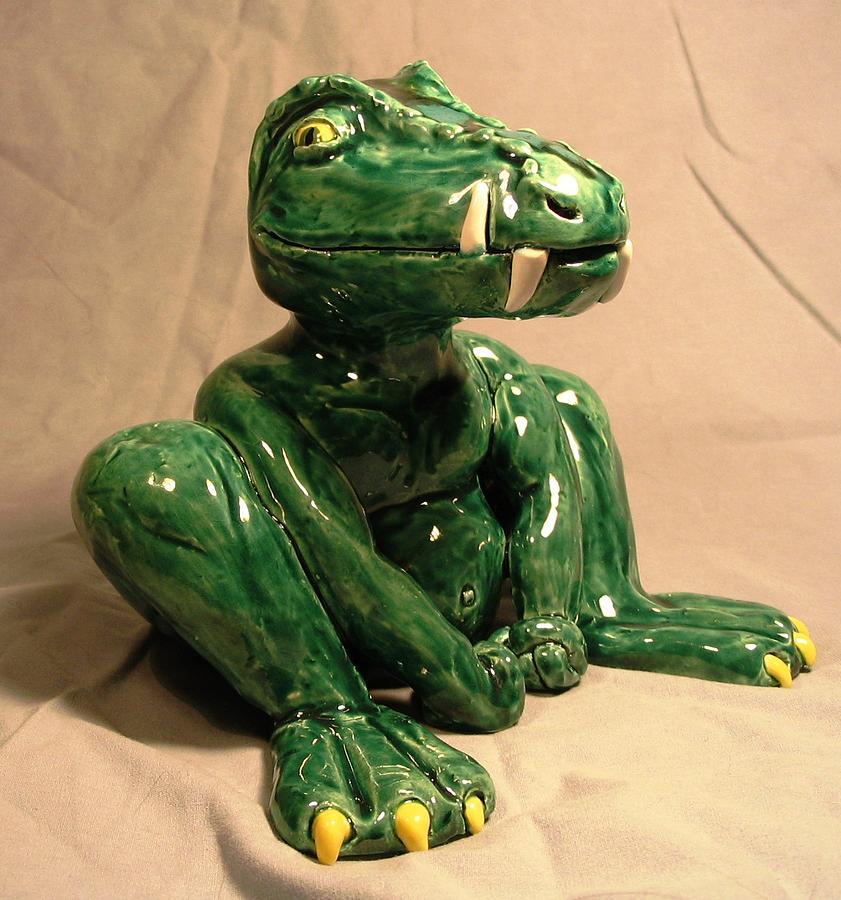 Alligator Gargoyle Sculpture