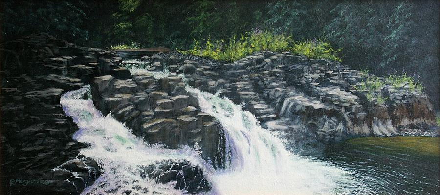 Almost Home - Lucia Falls Painting