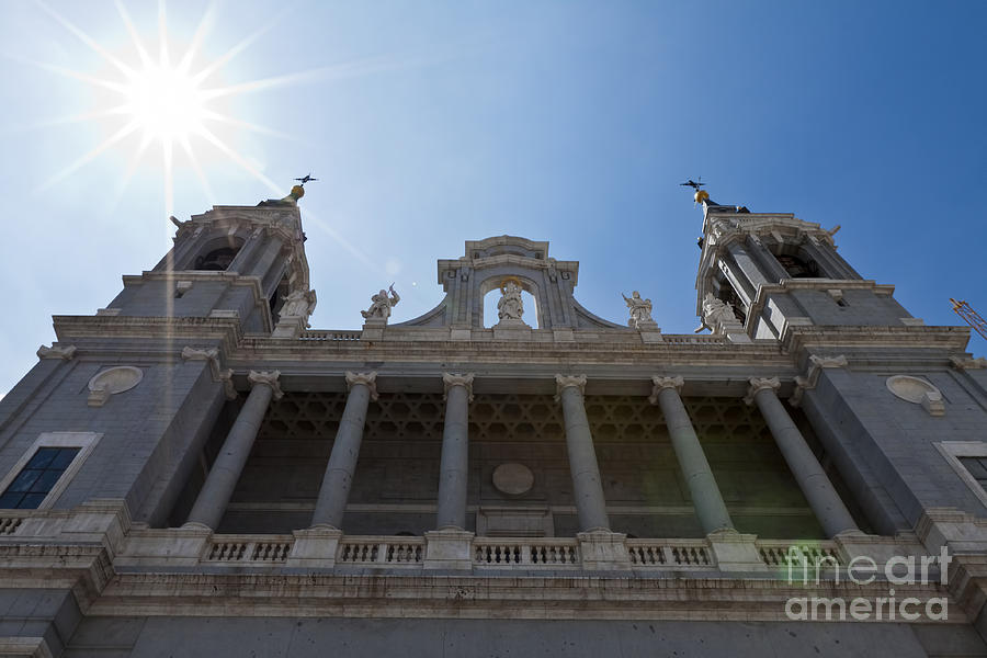 Almudena Cathedral Photograph  - Almudena Cathedral Fine Art Print