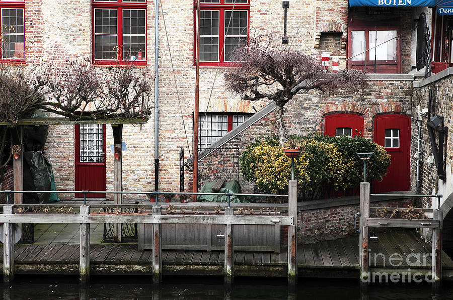 Along The Canal Photograph  - Along The Canal Fine Art Print