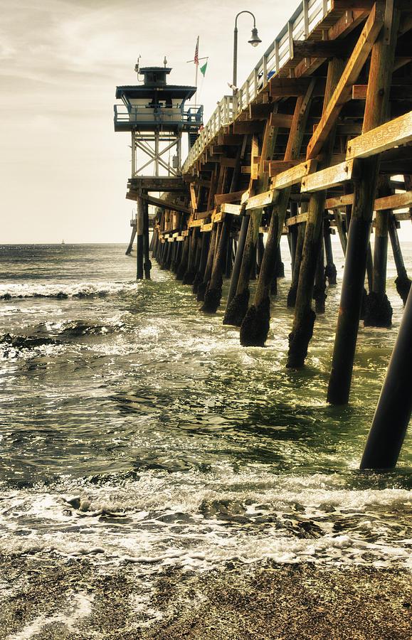 Along The Pier Photograph