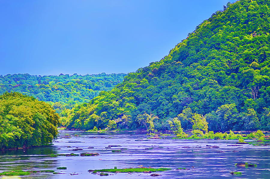 Along The Potomac In West Virginia Photograph