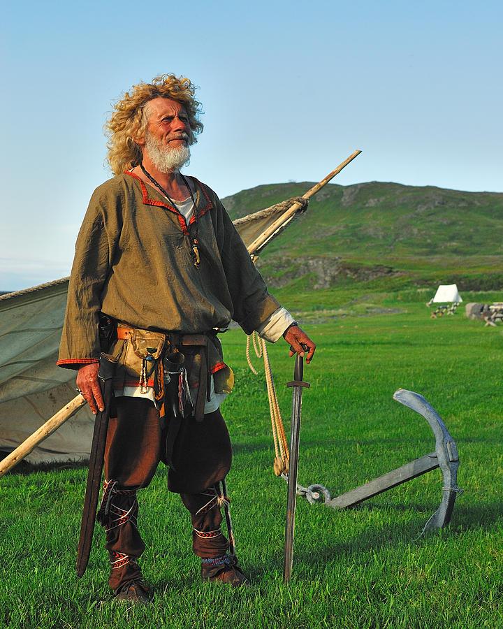 Along The Viking Trail Photograph