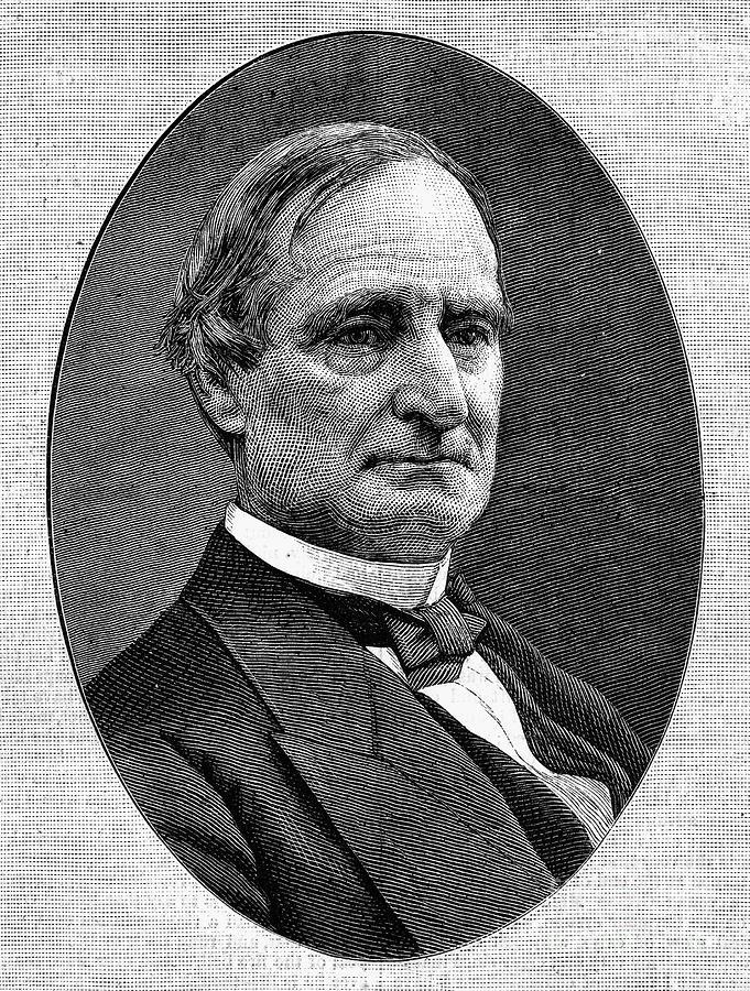 1876 Photograph - Alphonso Taft (1810-1891) by Granger
