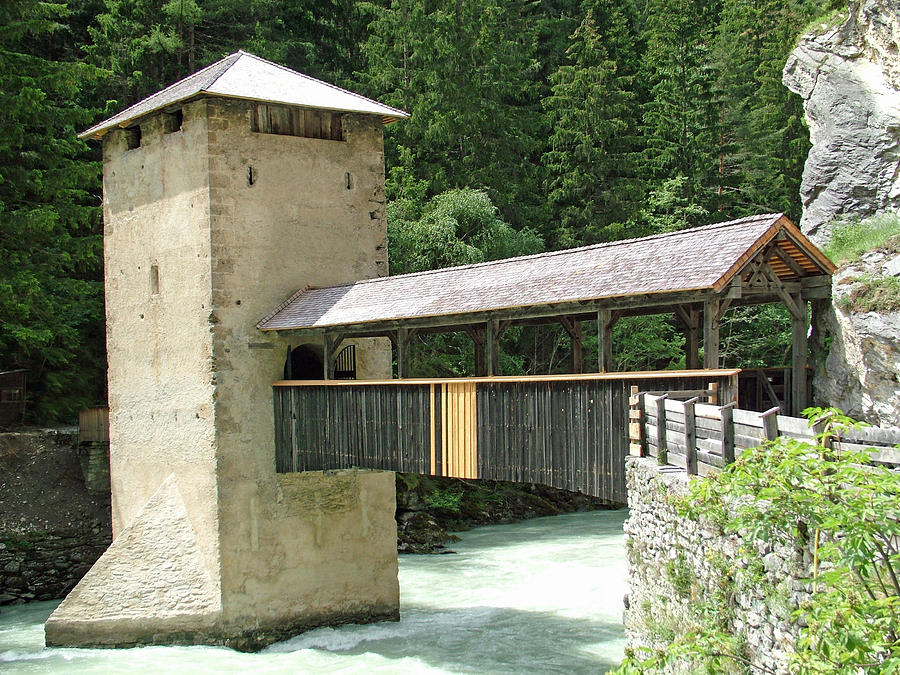 Altfinstermunz Bridge Nauders Switzerland Photograph