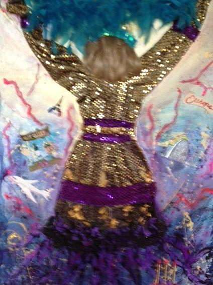 Altheas Third Cancerversary Painting