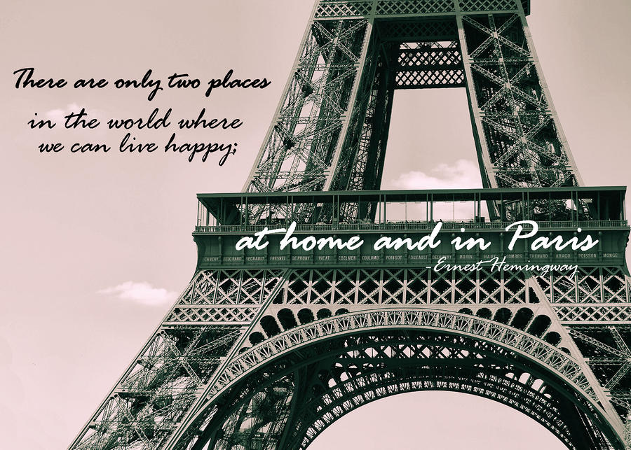Eiffel Tower Paris France Quotes. QuotesGram