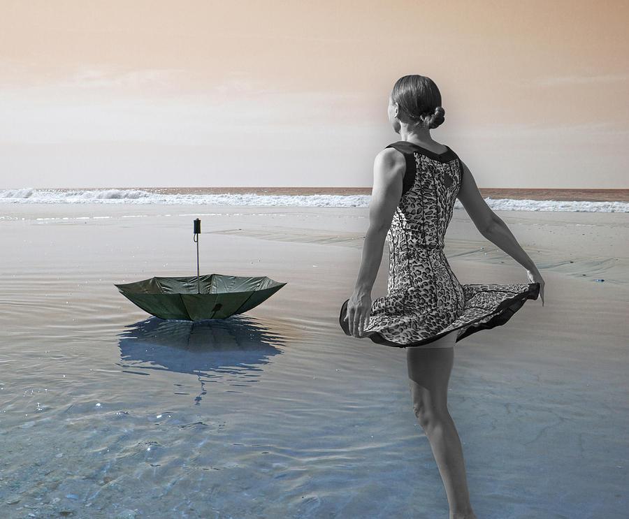 Umbrella Digital Art - Always Looking To The Light by Betsy Knapp