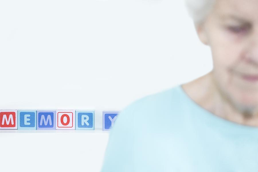 Alzheimers Disease, Conceptual Image Photograph