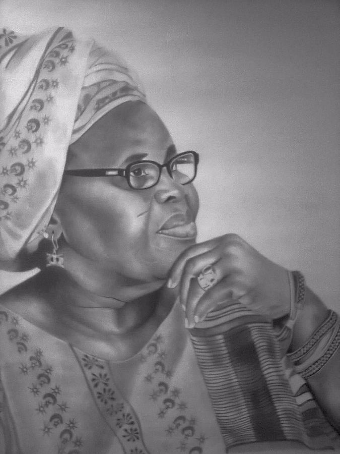 Ama Ata Aidoo Drawing