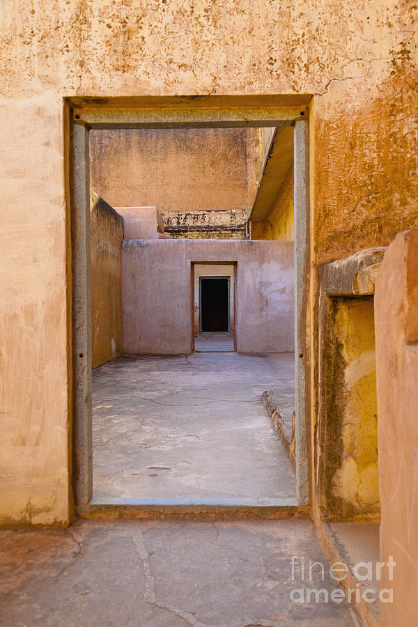 Amber Fort Doorway Photograph