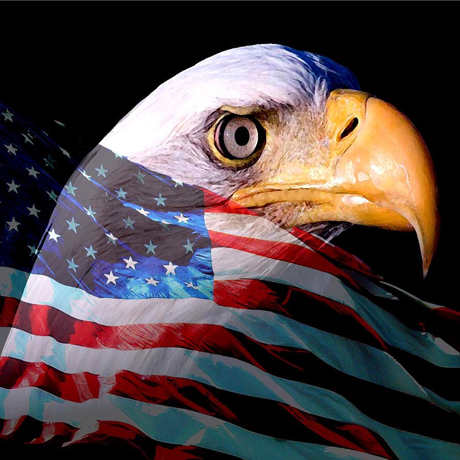 America The Beautiful Painting