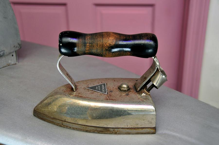 American Beauty Iron Photograph