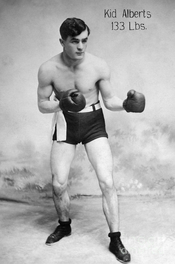 American Boxer, C1912 Photograph