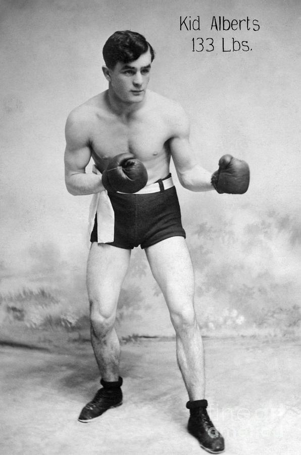 American Boxer, C1912 Photograph