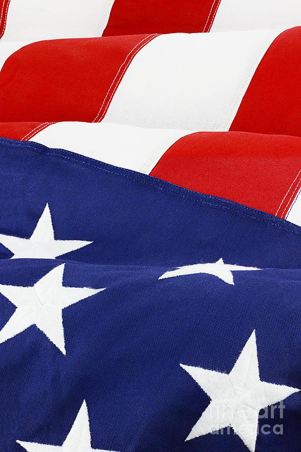 American Flag Photograph - American Flag by Stephanie Frey