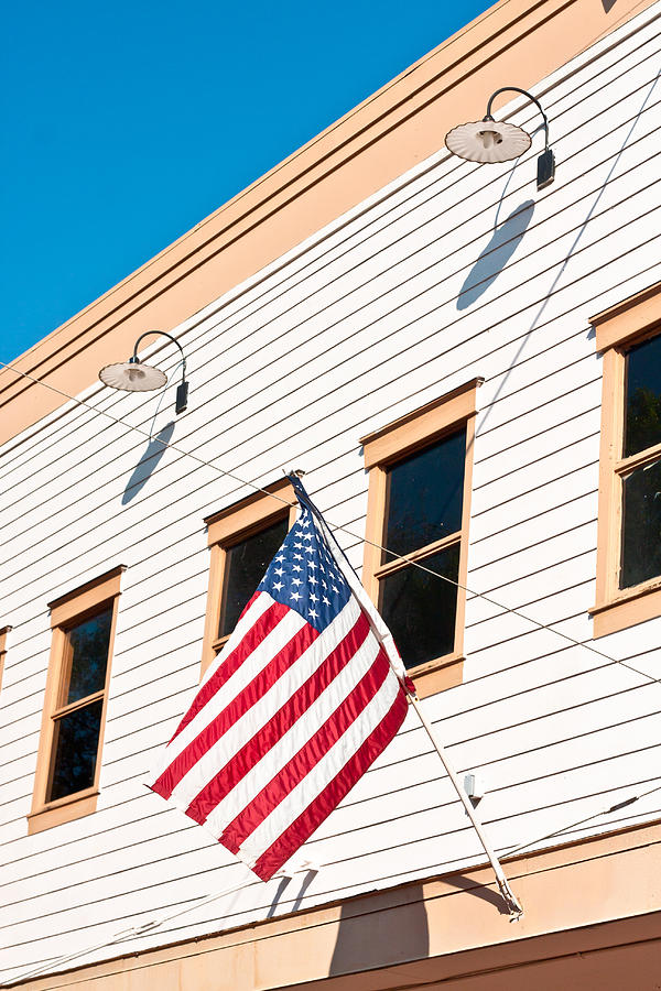 4th Photograph - American Flag by Tom Gowanlock