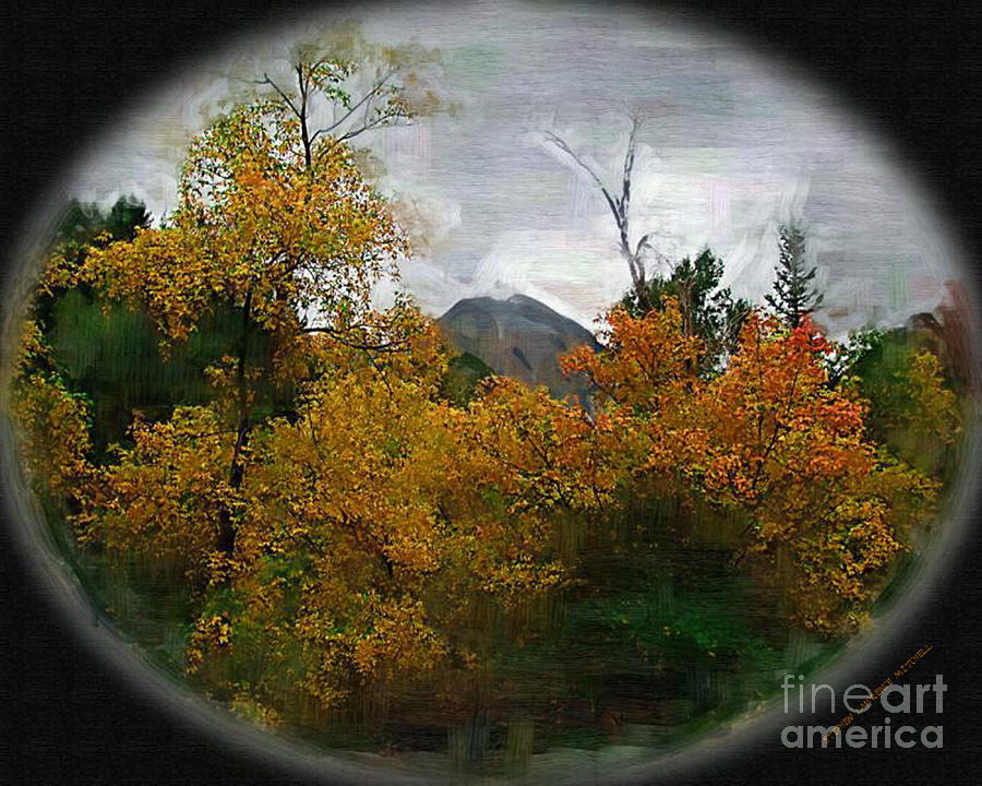 American Fork Canyon Painting