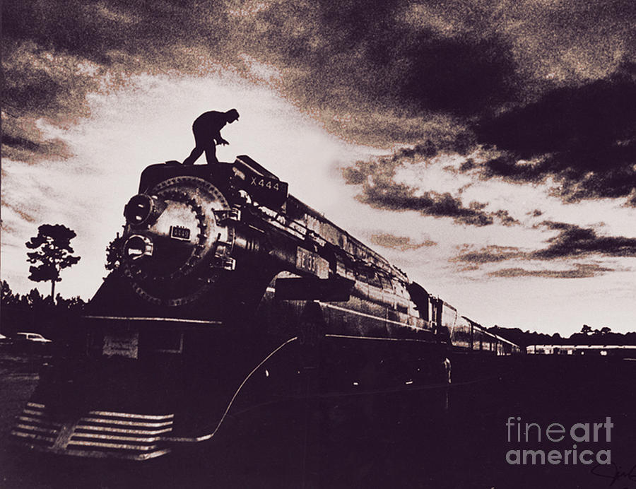 American Freedom Train Photograph  - American Freedom Train Fine Art Print