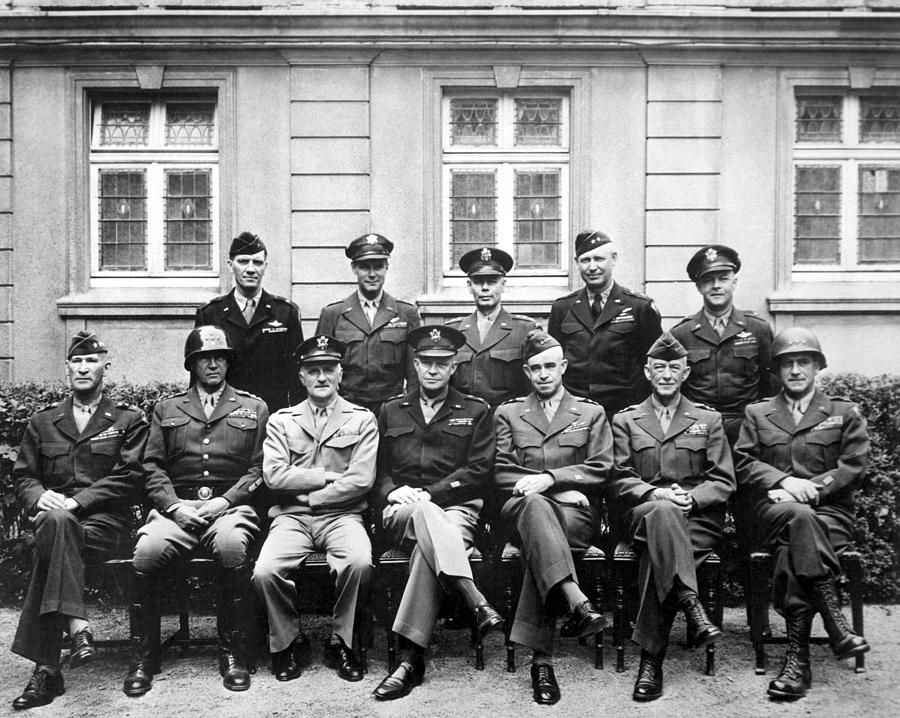 American Generals Wwii  Photograph