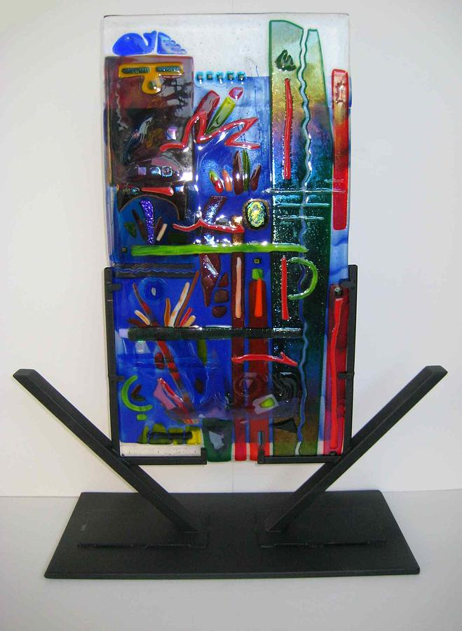 American Graffiti Sculpture  - American Graffiti Fine Art Print