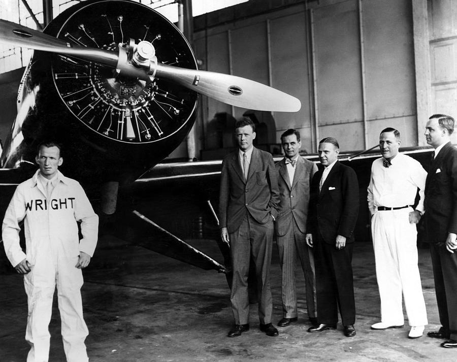 American Pilot Charles Lindbergh Photograph