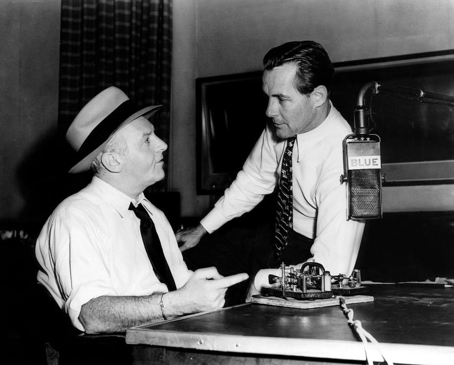 American Radio Commentators Walter Photograph