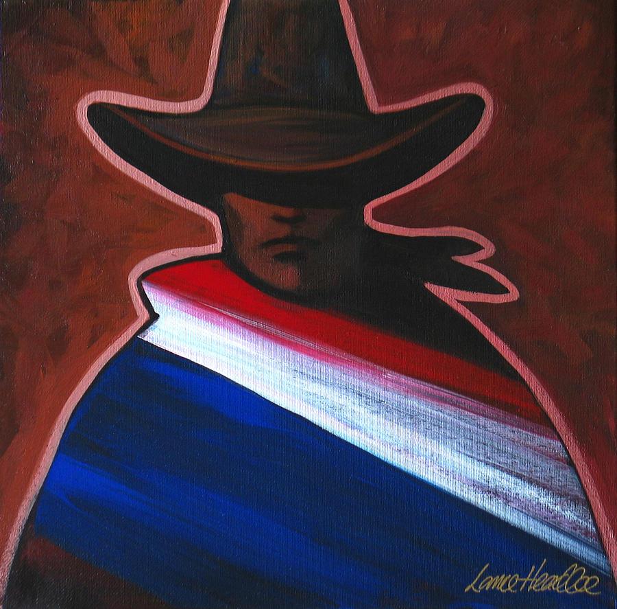 American Rider Painting