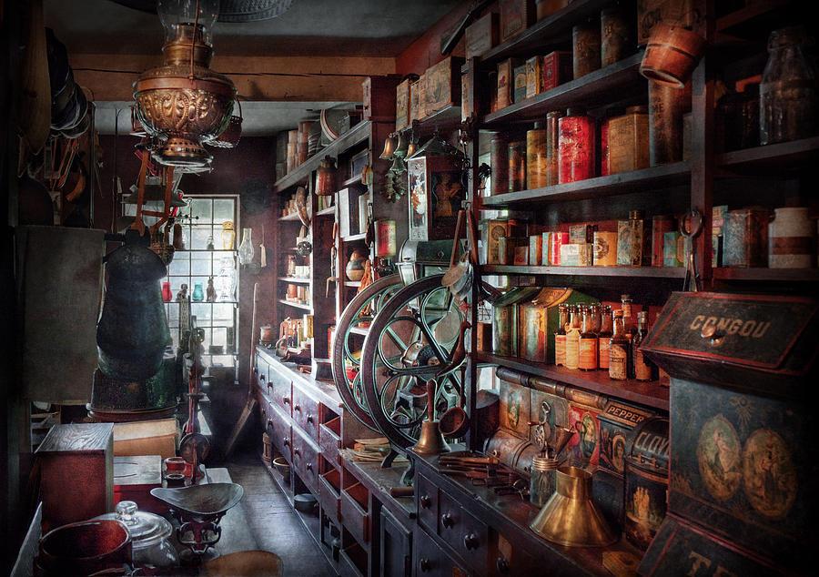Americana - Store - Corner Grocer  Photograph