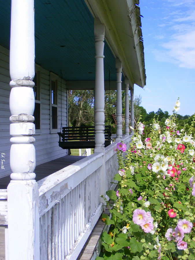 Amish Porch Photograph