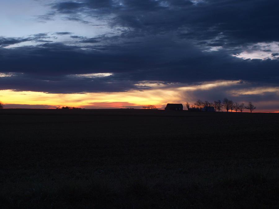 Amish Sunrise Photograph