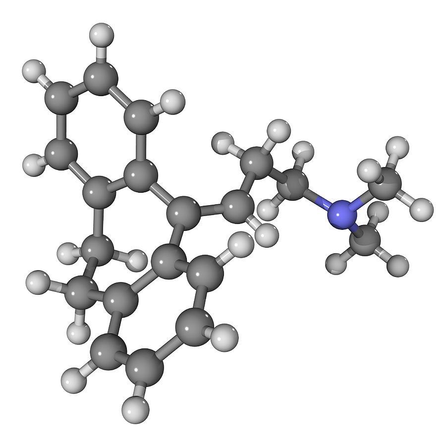 Amitriptyline Antidepressant Molecule Photograph