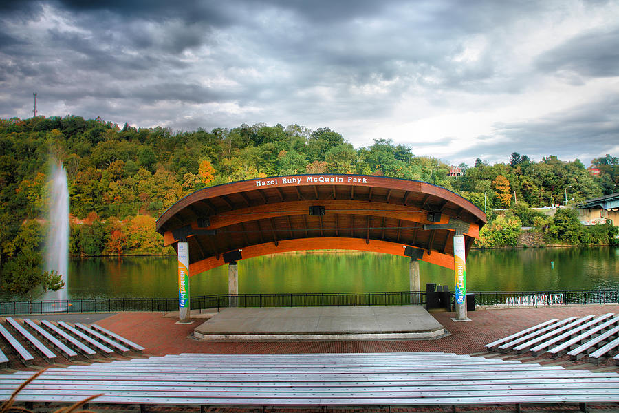 Amphitheatre On The Monongahela I Photograph  - Amphitheatre On The Monongahela I Fine Art Print