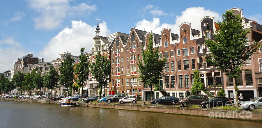 Amsterdam Canal Houses - 02 Photograph
