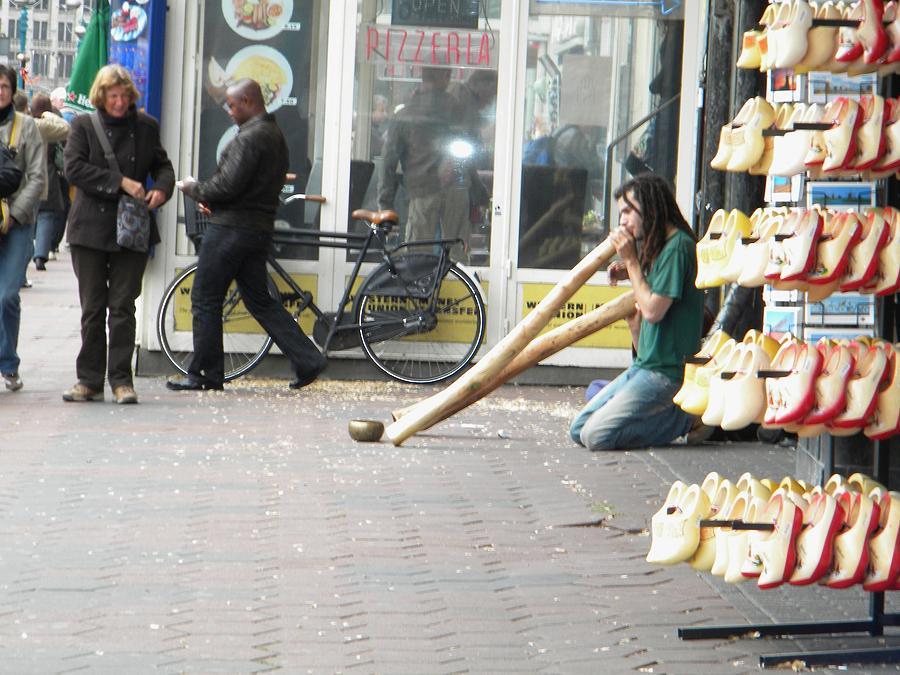 Amsterdam Photograph - Amsterdam Street View by Manuela Constantin