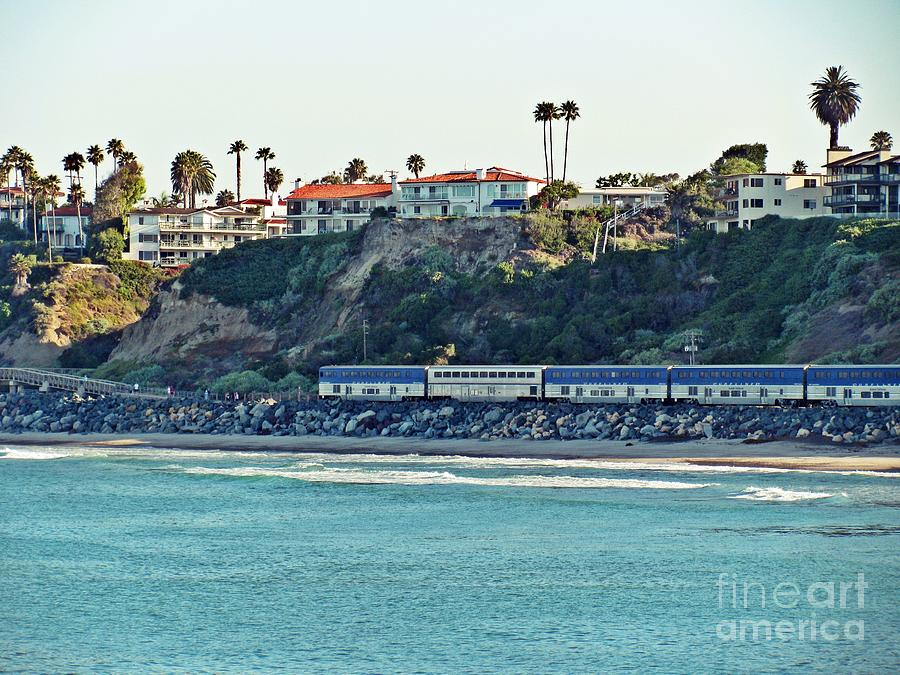 Amtrak Surfliner Photograph  - Amtrak Surfliner Fine Art Print