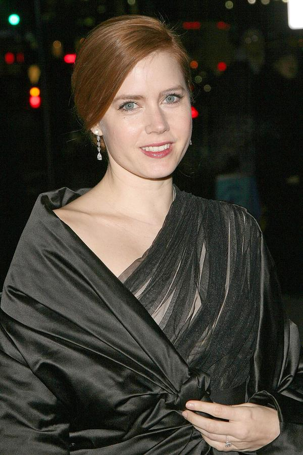 Amy Adams At Arrivals For The 2008 Photograph  - Amy Adams At Arrivals For The 2008 Fine Art Print