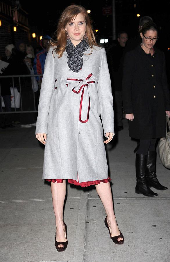 Amy Adams In A Louis Vuitton Scarf Photograph