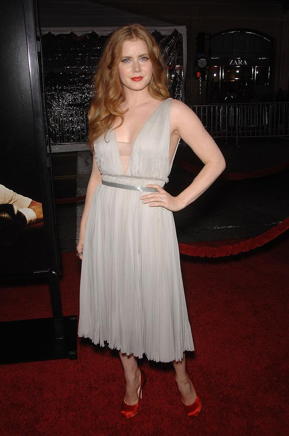 Amy Adams Wearing A J. Mendel Dress Photograph