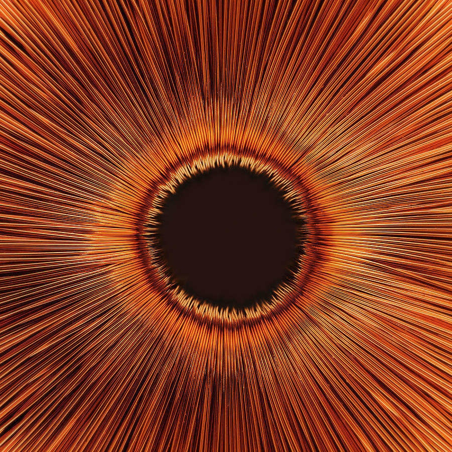 An Abstract Hole Photograph