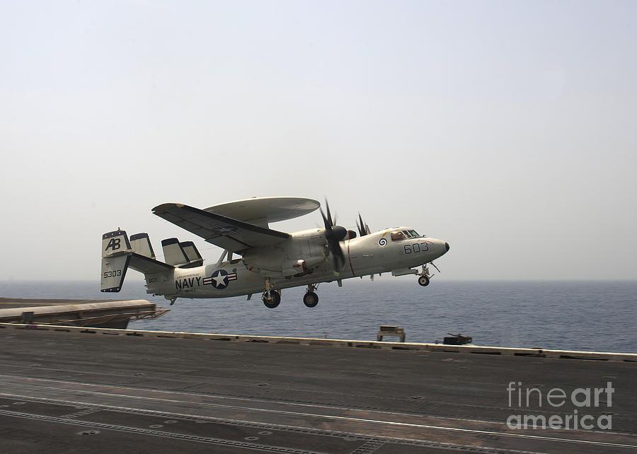 An E-2c Hawkeye Takes Photograph