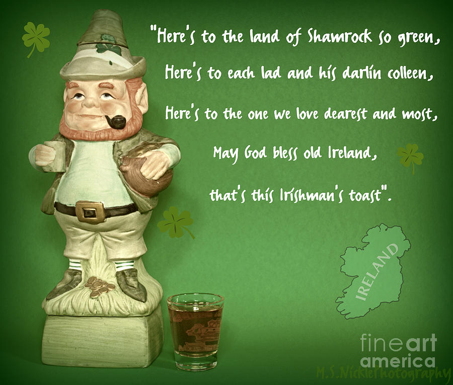 Irish Blessings Prayers And Curses Toasts Quotes
