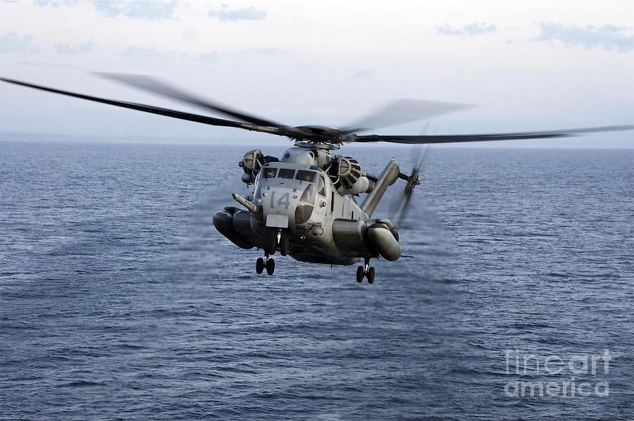 An Mh-53e Sea Dragon In Flight Photograph