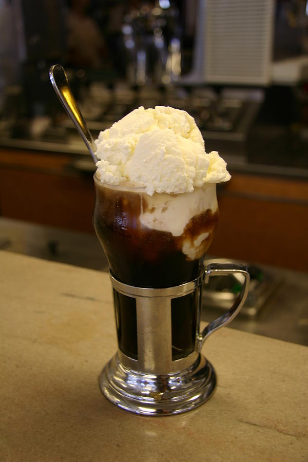 North America Photograph - An Old-fashioned Ice Cream Soda Awaits by Stephen St. John