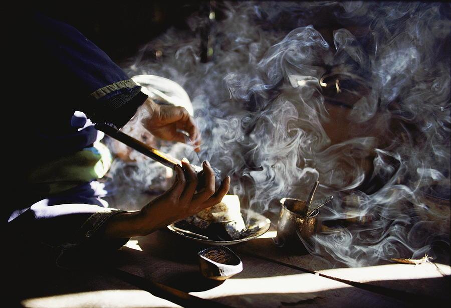 Opium Art An Opium Addict  Probably A