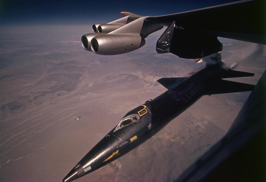 X 15 Rocket Plane An X-15 Rocket Plane Drops