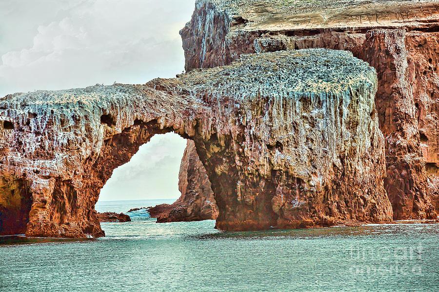 Anacapa Island s Arch Rock Photograph